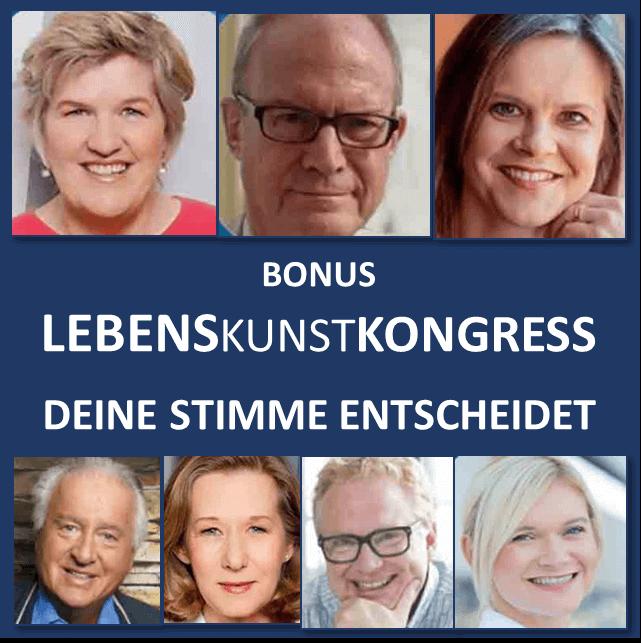 Speaker - Lebenskunst Kongressbonus